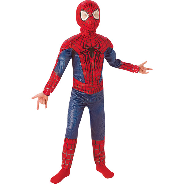 Costume Amazing Spiderman 2 7/8 Anni