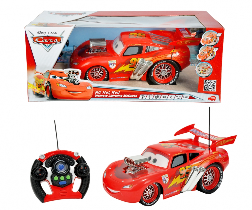 Cars Rc Ultimate Hot Rod McQueen