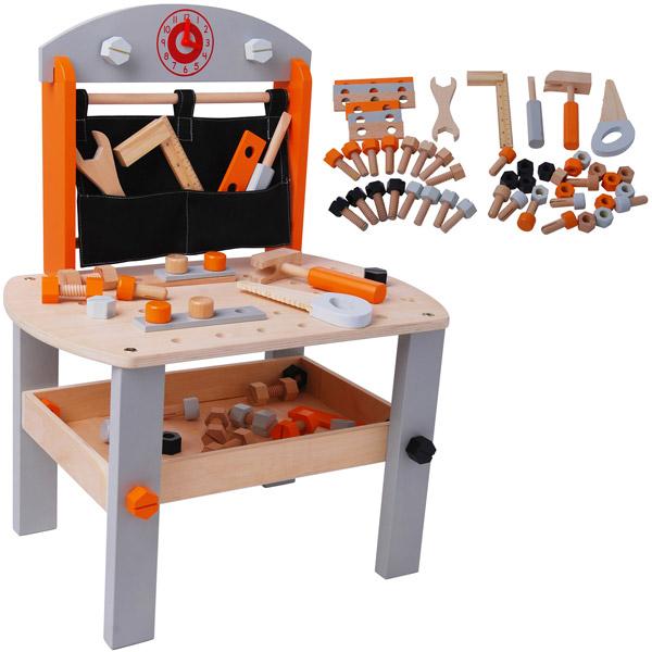 Jou club banco da lavoro in legno giocattolo 296200 for Banco da lavoro giocattolo ikea