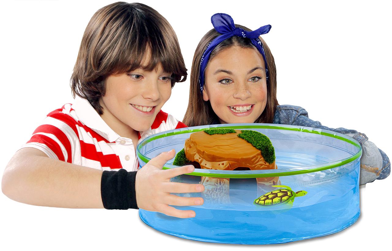 Splash toys robo turtle acquario delle tartarughe 313456 for Acquario tartarughe vendita online