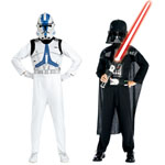 Travestimenti Kit Maschere Dark Vador e Clone Trooper Star Wars