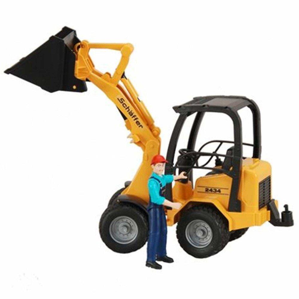 Schaeffer Con Personaggio Bruder4001702090388 Pala Meccanica 09038 E29IYDHW
