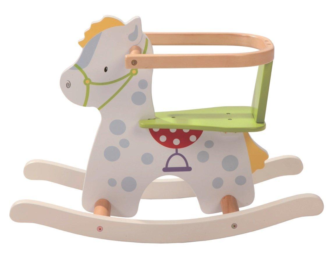 Cavallo A Dondolo Legno.Cavallo A Dondolo In Legno Kleiner Racker Roba 4005317257600