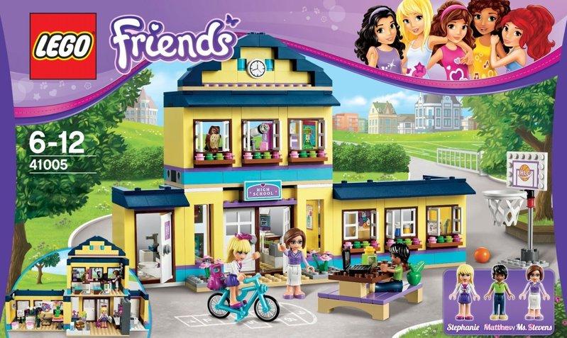 Cartina Mondo Lego.Lego Friends Il Liceo Di Heartlake 41005 50 00 Vendita Giocattoli Bambini Online Mondo Dei Bimbi