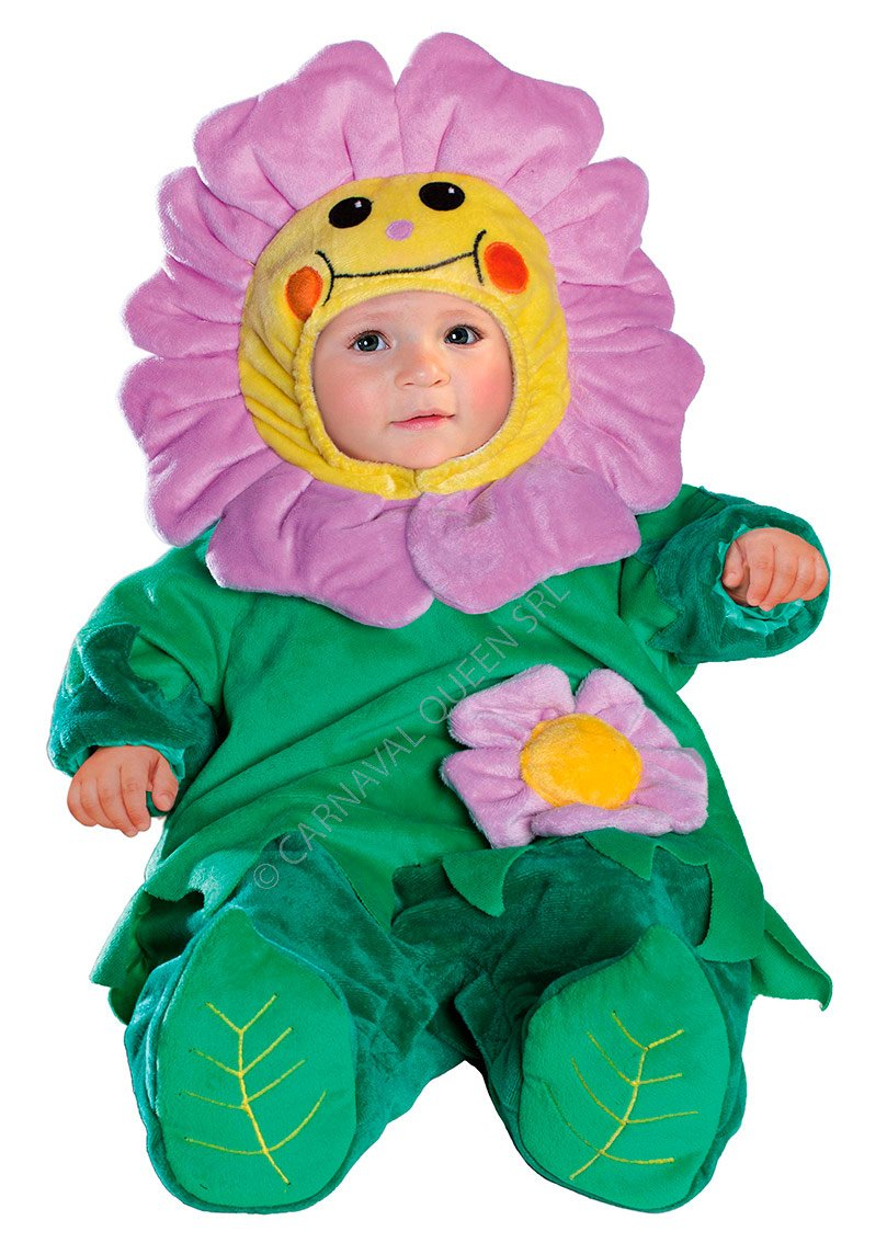 Costume Carnevale Baby Fiorellino 0/3 mesi Fancy Magic