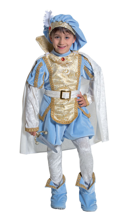 Costume Carnevale Principe 3/4 anni Fancy Magic