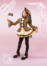 Costume Carnevale Miss Rococ� 11/12 anni Fancy Magic