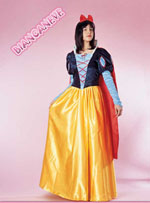 Costume Carnevale Biancaneve Taglia M (44/46) Fancy Magic