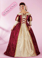 Costume Carnevale Constance Taglia L (48/50) Fancy Magic