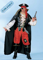 Costume Carnevale Corsaro Taglia L (48/50) Fancy Magic