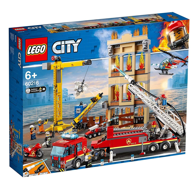 60216 Lego City Missione antincendio in città [5702016369489