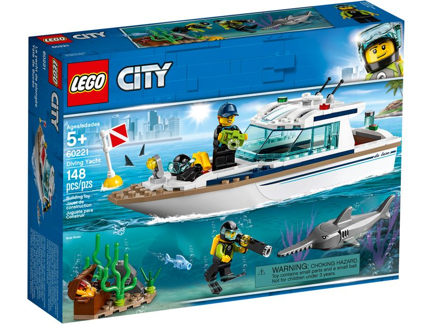 60221 Yacht per immersioni Lego City