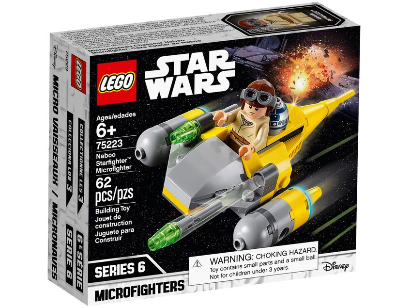 75223 Microfighter Naboo Starfighter Lego Star Wars