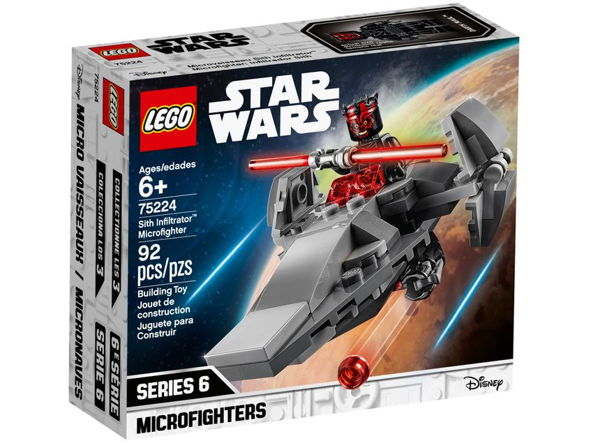 75224 Microfighter Sith Infiltrator Lego Star Wars