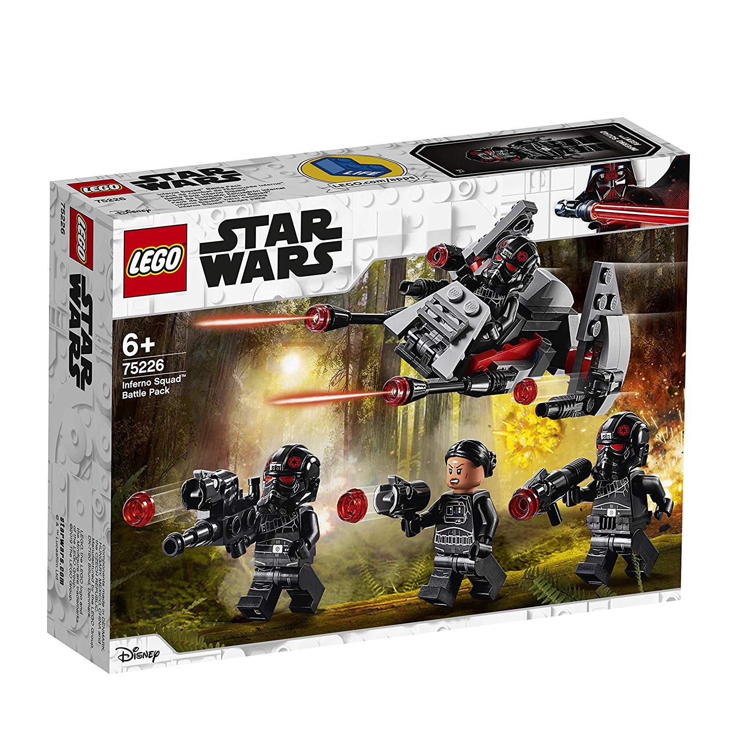 75226 Battle Pack Inferno Squad Lego Star Wars