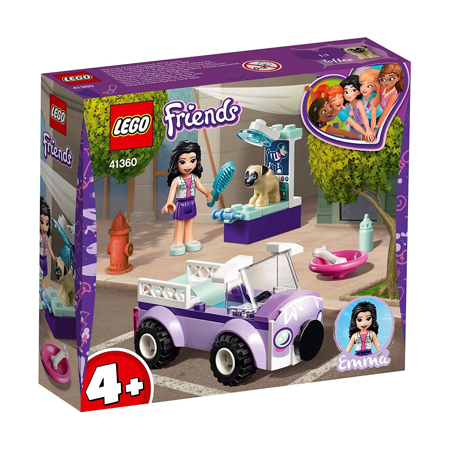 41360 Lego Friends La clinica veterinaria mobile di Emma
