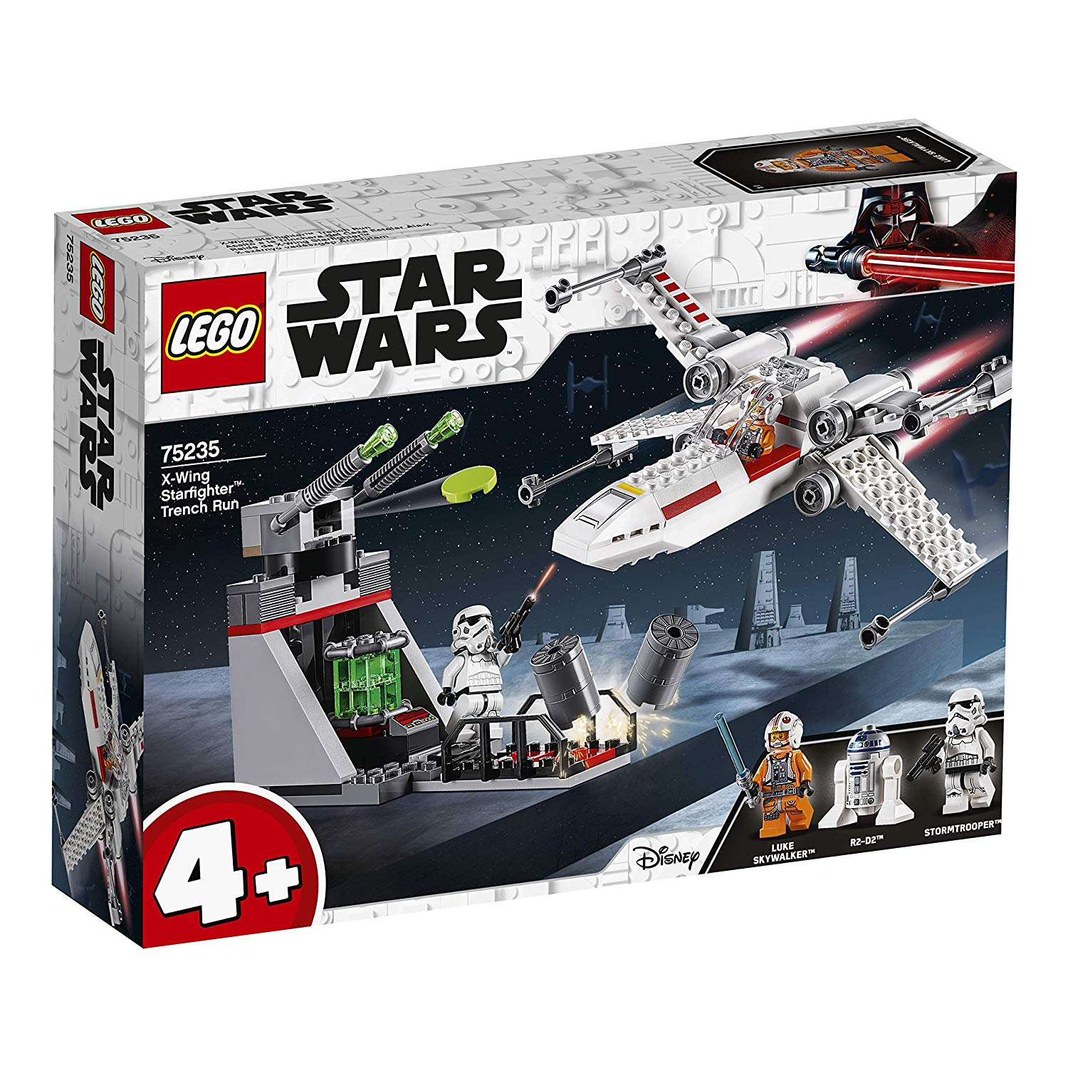 75235 X-Wing Starfighter™ Trench Run Lego Star Wars