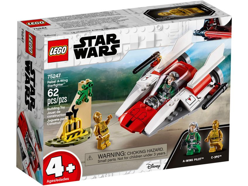 75247 Rebel A-Wing Starfighter Lego Star Wars