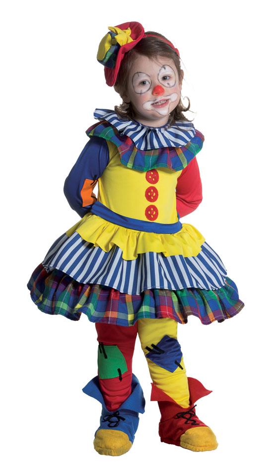 022a4dc11284 Costume Carnevale Baby Clownetta 2/3 anni Fancy Magic - Clicca l'immagine  per.