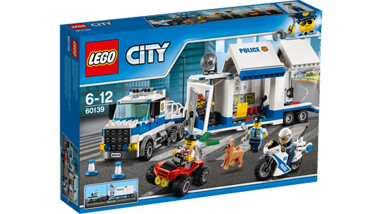 Lego City Posto Mobile Di Polizia