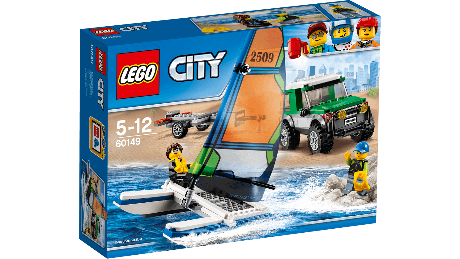 Lego City Pickup 4x4 Con Catamarano