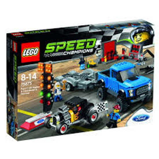 Lego Speed Champions Ford F-150 Raptor e Hot Rod Ford Model A