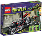 Lego Ninja Turtles La Dragomoto di Shredder