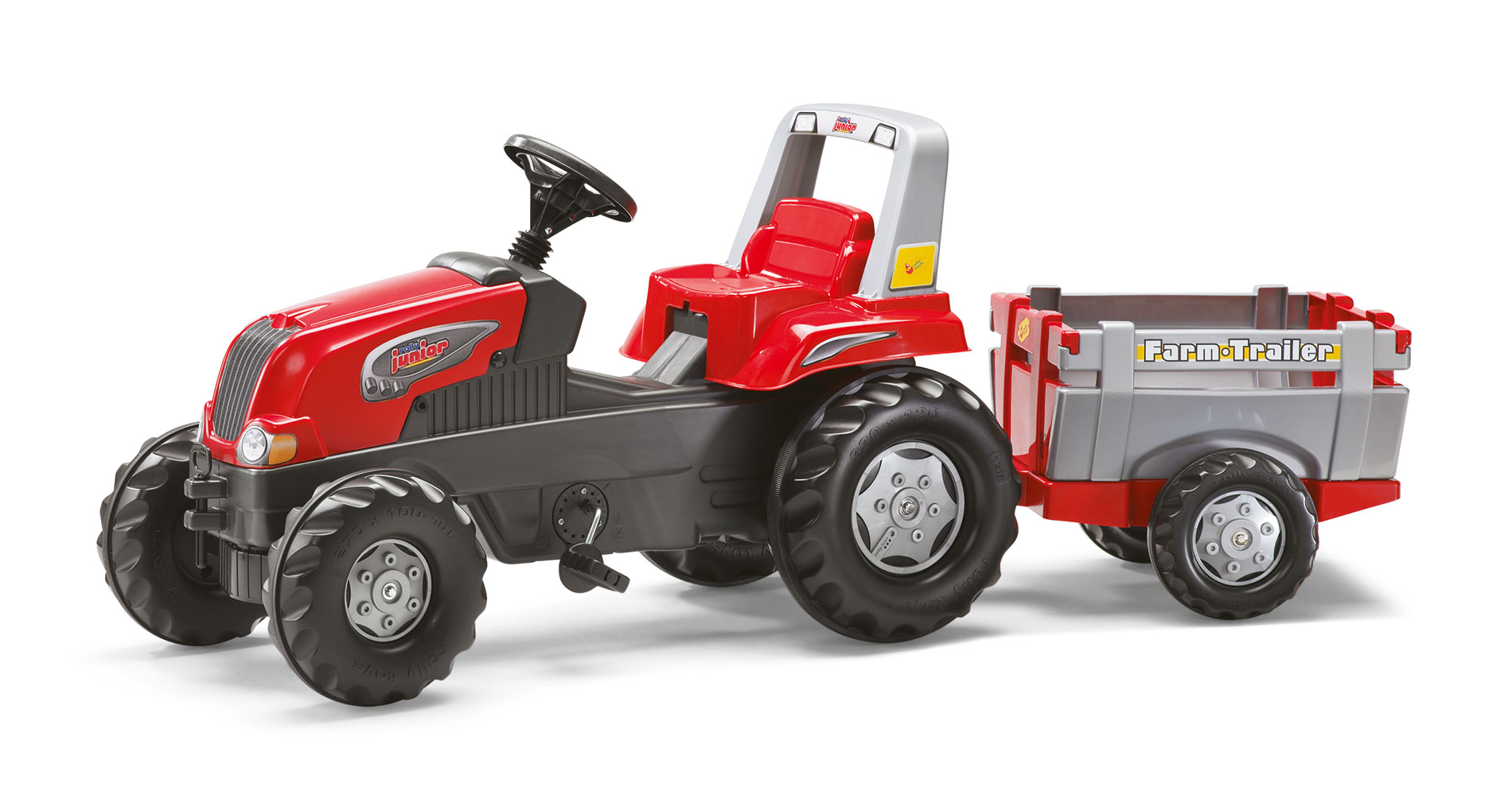 Trattore a Pedali con Rimorchio Rolly Junior Rolly Toys