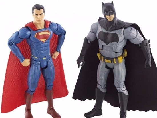 Mattel Batman Vs Superman 2 Pack