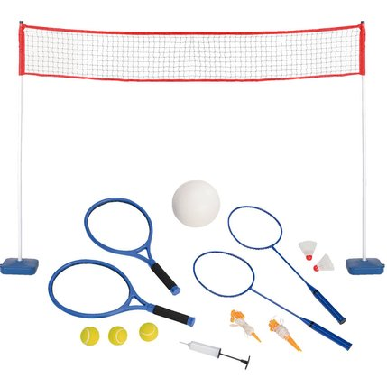Set 3 in 1 - Tennis - Badminton - Volley