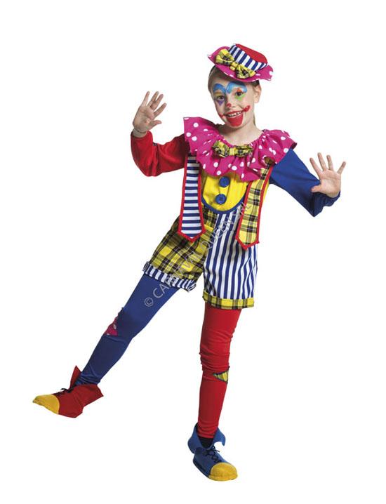 stile squisito Vendita scontata 2019 diventa nuovo Costume Carnevale Pagliaccetta 7/9 Anni Fancy Magic [59060 ...