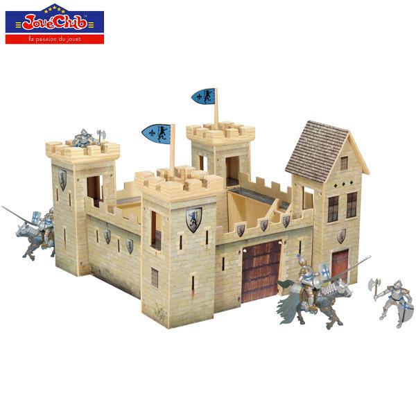 Castello medievale in legno giocattolo jou club vendita for Castello come piani di casa