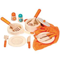 Accessori cucina in legno giocattolo 3602450 for Accessori cucina giocattolo