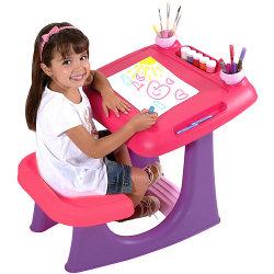 banco scuola rosa e viola 405336 vendita giocattoli bambini online mondo dei bimbi. Black Bedroom Furniture Sets. Home Design Ideas