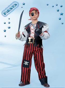 Costume Carnevale Pirata 7 8 Anni Fancy Magic 53060
