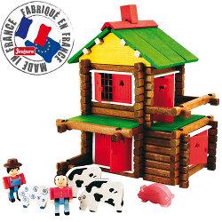 la mia piccola casa in legno giocattolo jeujura 8009