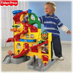 La Super Pista Dei Little People Fisher Price Mattel