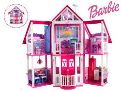 Mattel barbie la casa di malib california w3141 129 for Casa di malibu di barbie