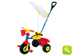 Triciclo a Pedali Smart Trike Easy Ride Boy