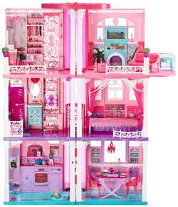 Mattel la casa dei sogni di barbie xcjr47 for Progetti di casa dei sogni