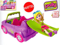Auto scivolo Polly Pocket Mattel