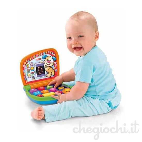 Baby computer bilingue Fisher Price